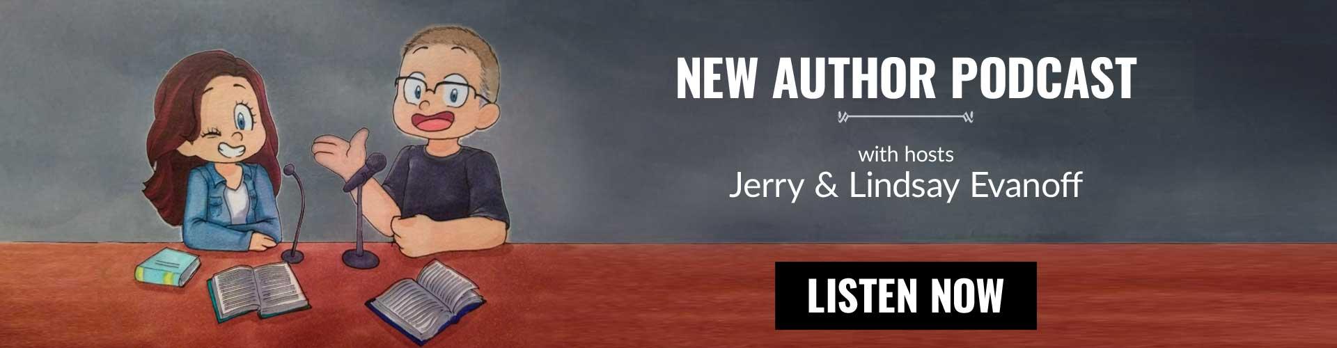 New Author Podcast